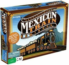 (NEW) Dominoes: Mexican Train Dominoes Game By Pressman Toy