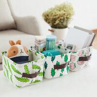 Foldable Fabric Storage Bin Closet Toy Organizer Box Container Bag Basket KV