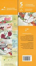 Finland 2009 MNH Booklet - Greetings - Let's Celebrate - Cakes - Flowers - Birds