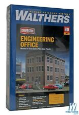Lot 10-284 * HO Scale Walthers Cornerstone kit 933-2967 * Engineering Office