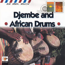 DJEMBE AND AFRICAN DRUMS - CD - VARIOUS ARTISTS