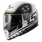 LS2 INTERRUTTORE ff390 classico bianco/nero moto casco integrale