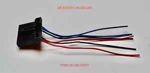 FORD TRANSIT MK6 MK7 2000-2014 REAR LIGHT BULB HOLDER WIRING LOOM CONNECTOR PLUG