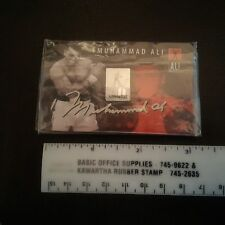 Muhammed Ali 50th Anniversary of Gold Medal Mint in package COA gold plated