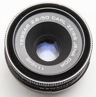 Carl Zeiss Jena Tessar 50mm 50 mm 2.8/50 2.8 1:2.8 - M42 Anschluss
