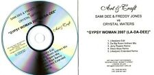 """CRYSTAL WATERS - """"Gypsy Woman 2007"""" (6 Track CD Promo) - Jerry Ropero Mixes"""