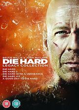 DIE HARD Complete 1 2 3 4 & 5 Movies Legacy Collection Boxset NEW BLU-RAY