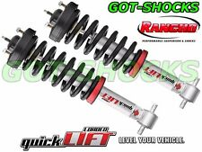 """RANCHO RS999945/RS999946 FRONT QUICKLIFT LOADED 2.5"""" LEVELING STRUTS 15-16 F150"""