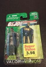 "New 2004 G.I. Joe Valor VS Venom Night Creeper Figure 3 3/4"" Hasbro"
