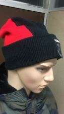 DIESEL Herren Damen K-MAGGIOLINO Mütze -Beanie StrickSkimütze Winter rot/schwarz