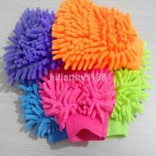 Microfiber Soft Mitt Car Beauty Tool Wash Mitten Washing Glove Cleaning Brush US