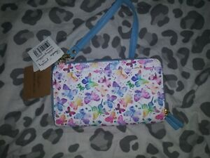 NWT Buxton Butterfly Ultimate Wallet RFID Shield Reader