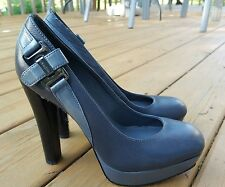 "Gorgeous Calvin Klein Jeans Women's 7M Platform 5"" High Heels Shoes  EUC"