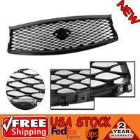 Fits for 14-17 INFINITI Q50 Painted Gloss Front Mesh Upper Grill Replacement NEW
