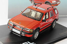 OPEL FRONTERA A 1991 1998 RED IXO ALTAYA 1/43 LEFT HAND DRIVE LHD ROT ROSSO