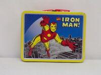 ORIGINAL Vintage 1998 Marvel Iron Man Metal Lunch Box