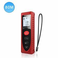 Laser Measure 80M, Laser Distance Meter 262ft, Portable Handheld Digital Tool