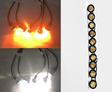 9W Switchback LED Eagle Eye DRL Lamp Fog Running Ground Puddle Light J2