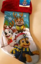 Paw Patrol Blue Christmas  New Marshall Rubble and Chase