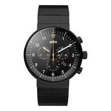 Braun Herren BN0095 Prestige Chronograf Uhr mit Edelstahlarmband, 66549, Neu+OVP