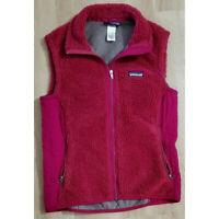 Patagonia Womens Vest Jacket Size Medium Retro-X Rubellite Pink