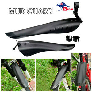 Cycling MTB Mudguard Mud Guard Mountain Bike Bicycle Fender Front Rear Tyre AU