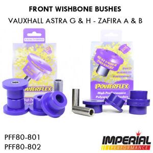 Astra G POWERFLEX front wishbone bushes Mk4 Mk5 GSI VXR SRI Z20LEH Z20LEL Z20LET