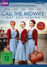 CALL THE MIDWIFE - RUF ES LEBENS STAFFEL 5  BASSETT,LINDA/+ 3 DVD NEU