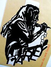 "Bob Marley Original Arte Pop, la música celebridades Pegatina De Vinilo Retrato 7""X10"""