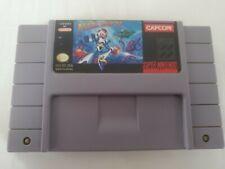 Mega Man X (Super Nintendo SNES, 1993) Authentic Original