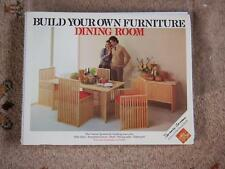 Mid Century Retro Terence Conran Build Your Own Dining Room Furniture Plans/Book