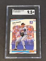1988 Fleer Update Glossy John Smoltz RC SGC 9.5 Rookie Undergraded PSA ?