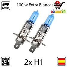 2 BOMBILLAS H1 12V 100W BOMBILLA LAMPARA HALOGENA EXTRA BLANCO *Envío GRATIS des