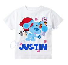 Blues Clues Custom t-shirt Personalize Birthday gift Add NAME