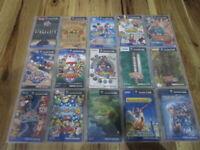 Nintendo Gamecube Lot of 15 Piece w/box Smash Bros. Mario Kart Japan d197