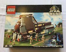 Lego Star Wars trade Federation MTT (7184) del año 2000 OVP mimb