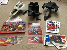 Mattel Captain Power Lot Jets Phantom Striker Interlocker Powerjet XT-7 & More!