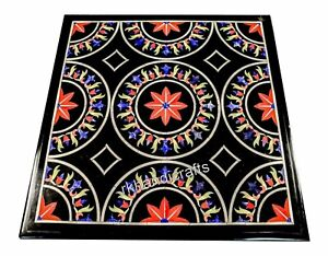 Unique Design Inlay Marble Coffee Table Peitra Dura Art Stone Dinette Table Top