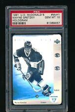 1991-92 McDonald's Upper Deck #H1 Wayne Gretzky PSA Graded Gem Mint 10