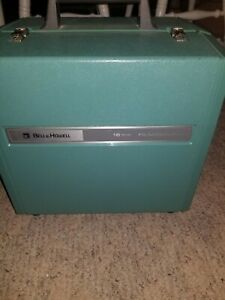 Bell & Howell Filmosound 1585 16mm Film Projector Tested! Powers on! Clean! Case