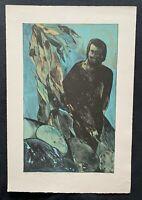 Wolff Buchholz, L7501/I, Farblithographie, 1975, handsigniert und datiert