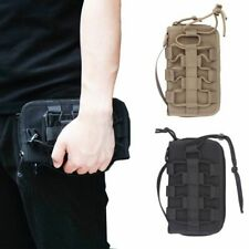 Tactical Molle Wallet Bag ID Credit Card Phone Holster Protable Hand Carry Pouch