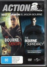 THE BOURNE IDENTITY / THE BOURNE SUPREMACY - 2-DVD SET (2006) R4 Matt Damon - VG