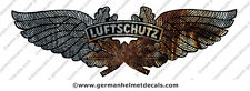 Pre aged German Luftschutz WW2 helmet decal for M34 M35 M40 M42 Gladiator helmet