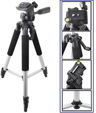 """Pro Series Tripod 57"""" With Case For Canon Powershot ELPH 130 115 IS 330 320 HS"""