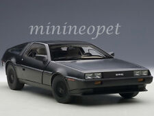 AUTOart 79912 DELOREAN DMC 12 1/18 DIECAST MODEL CAR MATTE BLACK