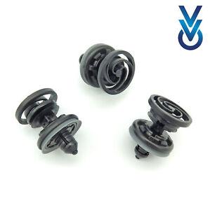 10x VVO® clips de panneau de porte avant pour certains véhicules Audi