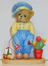 Cherished Teddies Van Figurine NEW # 4049736 #2 Around World Series Dutch Boy