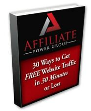30 Ways to Get FREE Web Traffic in 30 minutes PDF eBook with resale rights!