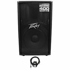 "Peavey PV115D 15"" 400 Watt Active/Powered PA DJ Speaker +FREE Cable"